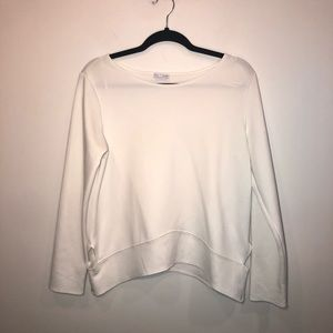 Zara Cut Out Long Sleeve Top